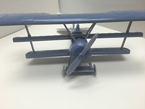 3D printed airplane